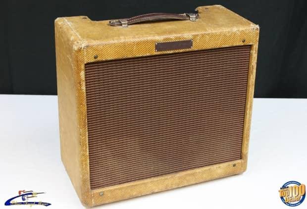 vintage 1959 fender harvard guitar amplifier tweed works reverb. Black Bedroom Furniture Sets. Home Design Ideas