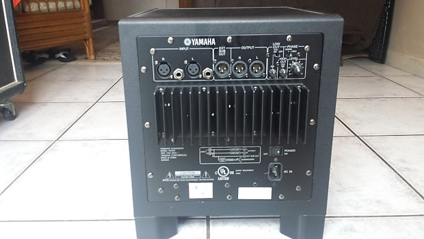 Yamaha hs10 reverb for Yamaha hs80 vs hs8