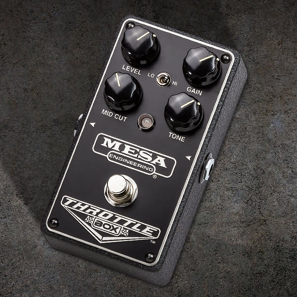 mesa boogie throttle box distortion guitar effects pedal reverb. Black Bedroom Furniture Sets. Home Design Ideas