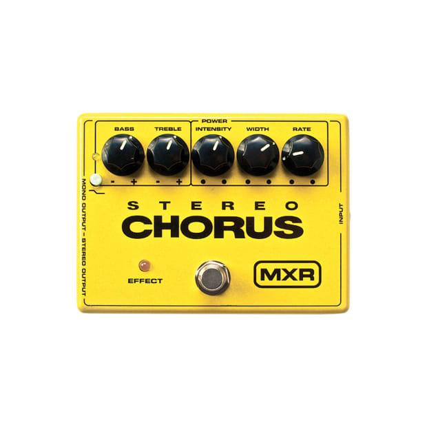 mxr m 134 stereo chorus effect pedal reverb. Black Bedroom Furniture Sets. Home Design Ideas