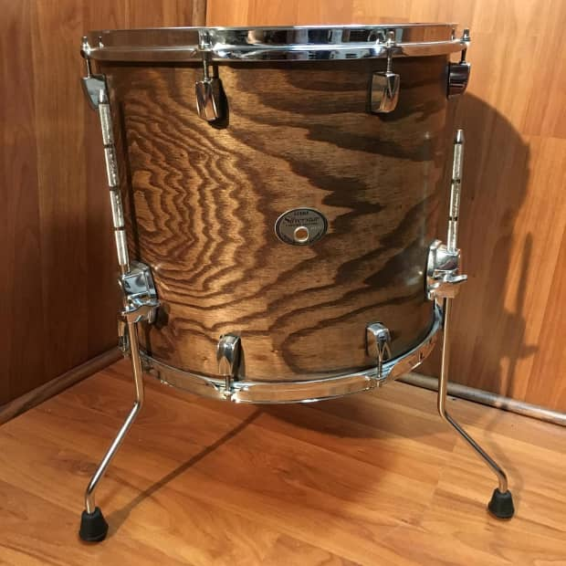 tama silverstar birch 16x14 floor tom reverb