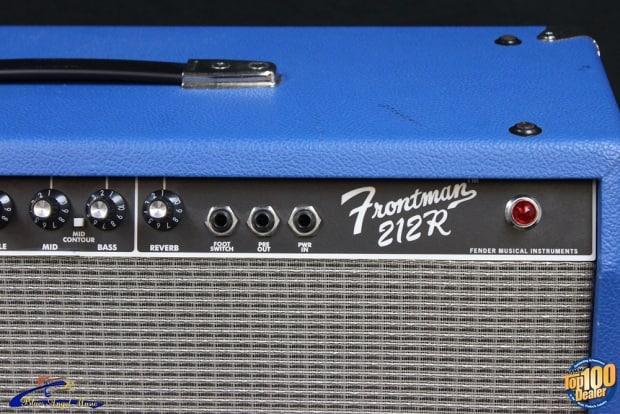 fender frontman 212r 100w 2x12 guitar combo amp cobalt blue reverb. Black Bedroom Furniture Sets. Home Design Ideas