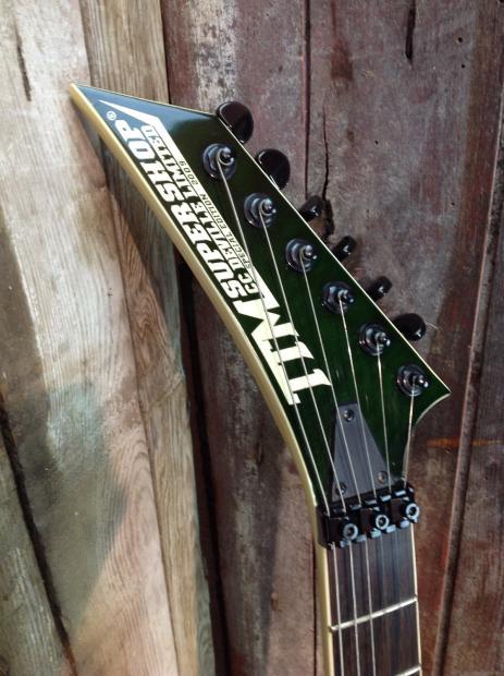 Ttm Supershop Cc Deville Limited Electric Guitar Trans