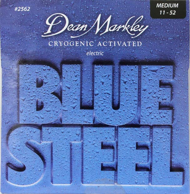 Dean Markley Blue Steel Electric Guitar Strings, Medium