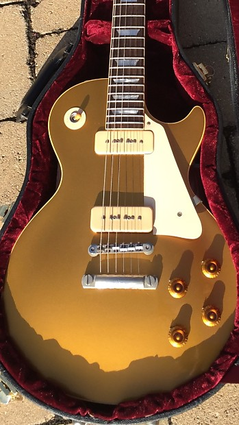 Reverb Item 3512004 Gibson Les Paul 1956 Reissue Historic Collection Goldtop