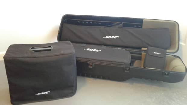 bose l1 model 1s speaker system with b1 bass and tonematch. Black Bedroom Furniture Sets. Home Design Ideas