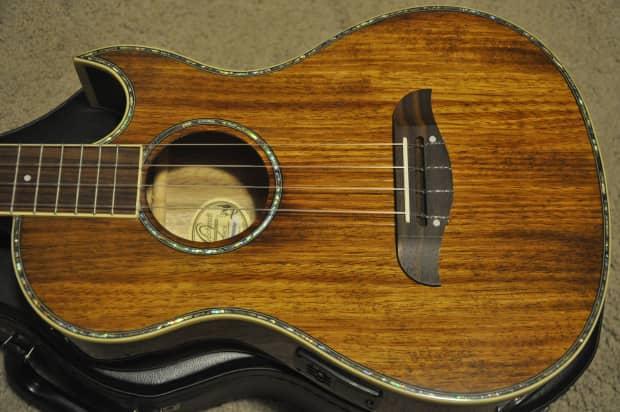 oscar schmidt ou55ce a e baritone cutaway ukulele reverb. Black Bedroom Furniture Sets. Home Design Ideas