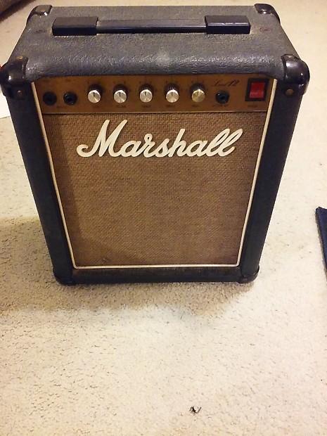 marshall 5005 lead 12 combo amp 80s reverb. Black Bedroom Furniture Sets. Home Design Ideas