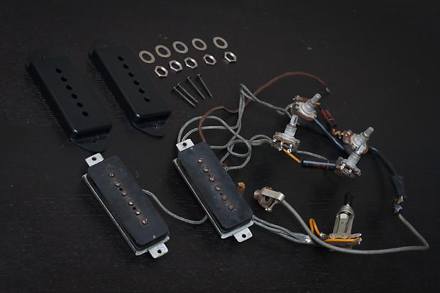 les paul p90 wiring diagram 1961 gibson p90 pickups, original electronics, and wiring ... #2