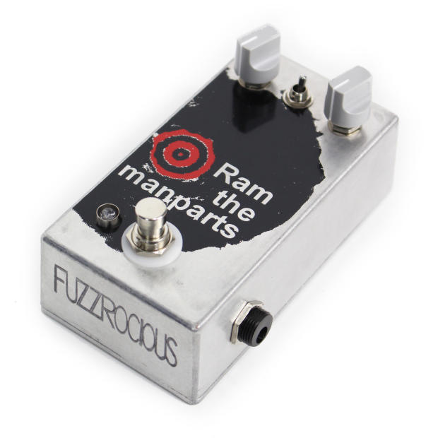 used fuzzrocious pedals ram the manparts overdrive pedal reverb. Black Bedroom Furniture Sets. Home Design Ideas