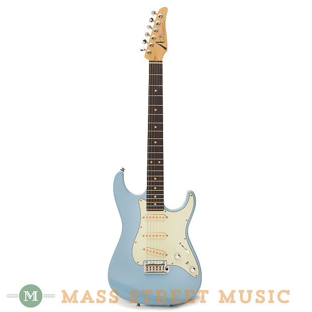 tom anderson electric guitars classic baby blue reverb. Black Bedroom Furniture Sets. Home Design Ideas