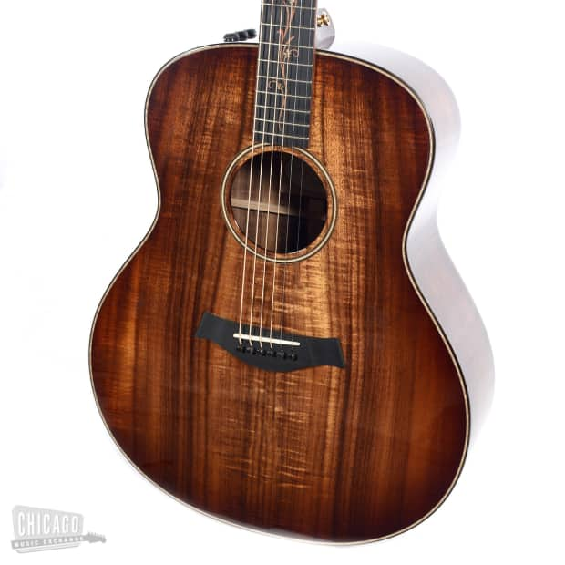 Taylor K28e Grand Orchestra Koa Es2 Acoustic Electric Reverb