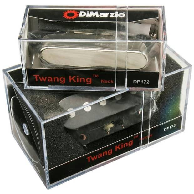 Dimarzio Twang King : dimarzio twang king neck bridge pickup set for reverb ~ Vivirlamusica.com Haus und Dekorationen
