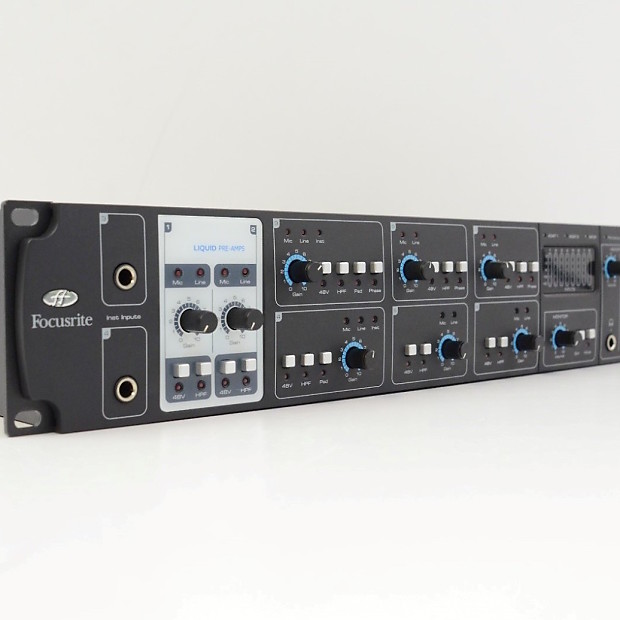 focusrite liquid saffire 56 firewire audio interface reverb. Black Bedroom Furniture Sets. Home Design Ideas