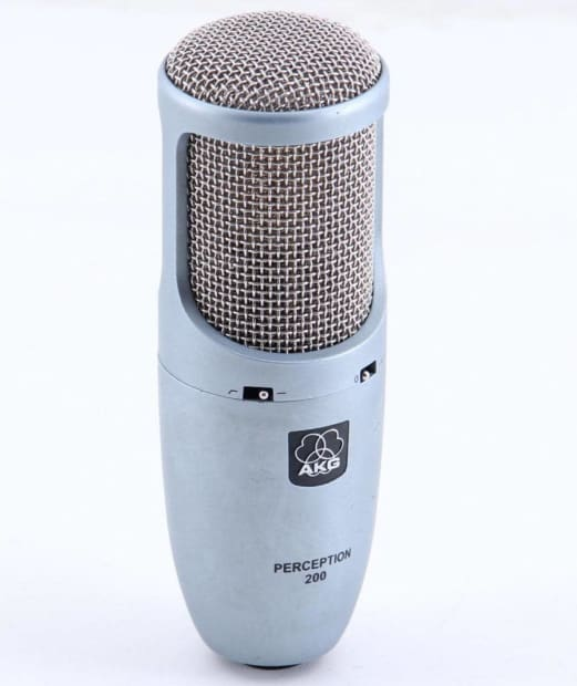 akg perception 200 condenser cardioid microphone mc 1538 reverb. Black Bedroom Furniture Sets. Home Design Ideas