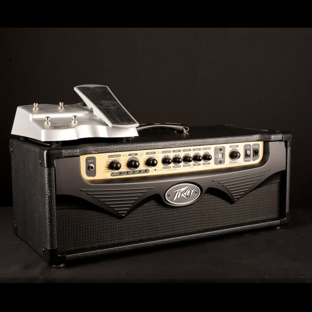 peavey vypyr 120h tube head w footswitch used reverb. Black Bedroom Furniture Sets. Home Design Ideas