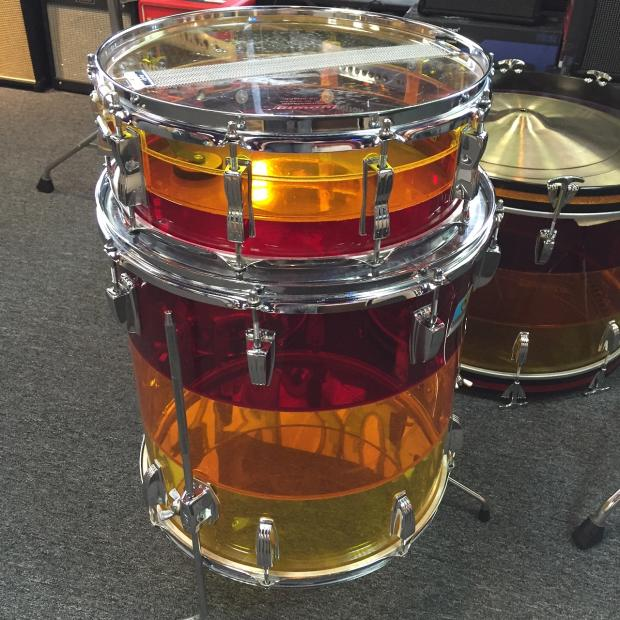 Roseville Auto Sales >> Ludwig Vistalite 5-Piece 1970s Tequila Sunrise Drum Kit ...