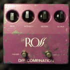 Rare Vintage ROSS Distortion / Phaser D/P Combination Pedal (SN: 10006) image