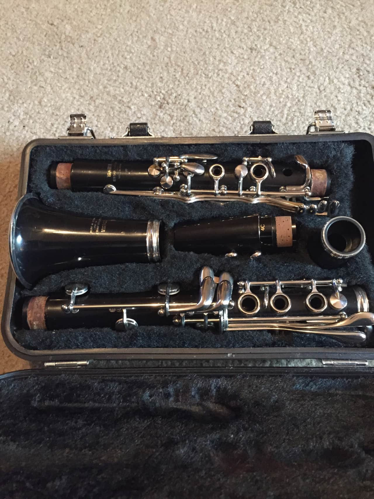 yamaha clarinet model 20 reverb