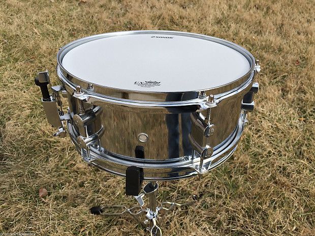 sonor martini 12x5 steel snare drum reverb. Black Bedroom Furniture Sets. Home Design Ideas