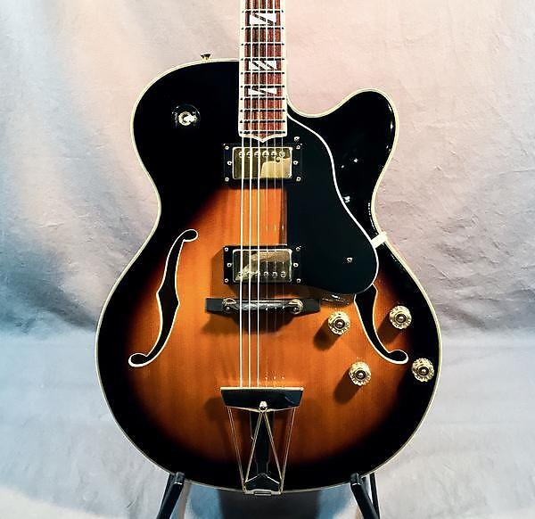 washburn 1994 j 6s hollowbody electric guitar used reverb. Black Bedroom Furniture Sets. Home Design Ideas
