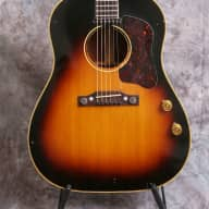 <p>Gibson j-160e 1955 Natural top</p>  for sale