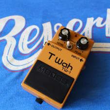 Boss  TW-1 T Wah Touch Wah Guitar Effects Pedal image