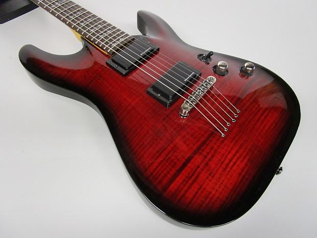 schecter diamond series demon 6 electric guitar reverb. Black Bedroom Furniture Sets. Home Design Ideas
