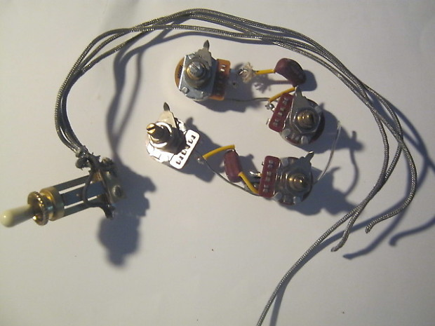 gibson lp wiring harness 1973 | reverb 1970 gibson les paul wiring diagram 1981 gibson les paul wiring harness #11