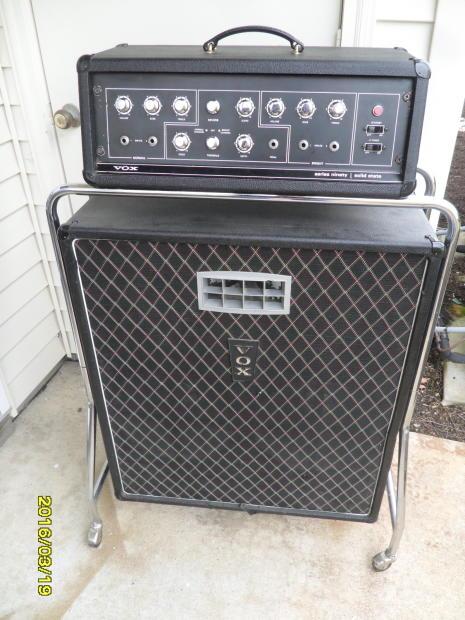 1969 vox series 90 v132 head and v131 amp cab 60s beatle royal guardsman super reverb. Black Bedroom Furniture Sets. Home Design Ideas