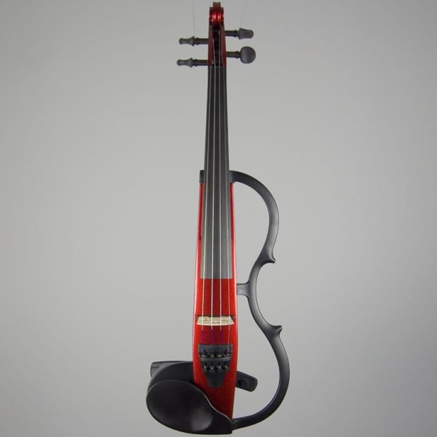 Yamaha Sv 130 Silent Electric Violin Candy Apple Red Reverb
