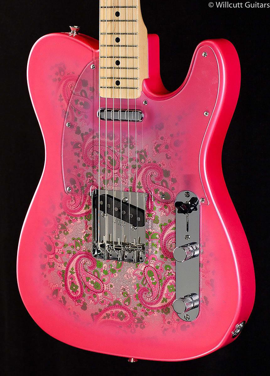 fender classic 39 69 telecaster pink paisley 409 reverb. Black Bedroom Furniture Sets. Home Design Ideas