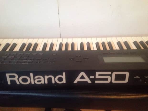 roland a 50 midi keyboard synthesizer controller 76 reverb. Black Bedroom Furniture Sets. Home Design Ideas