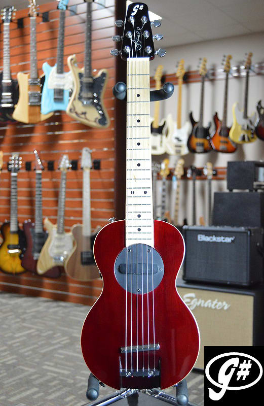 G-Sharp OF-1 Guitar, Red Wine
