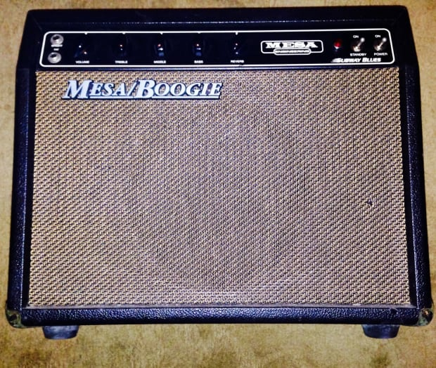 mesa boogie subway blues small tube guitar combo amp 10 inch reverb. Black Bedroom Furniture Sets. Home Design Ideas