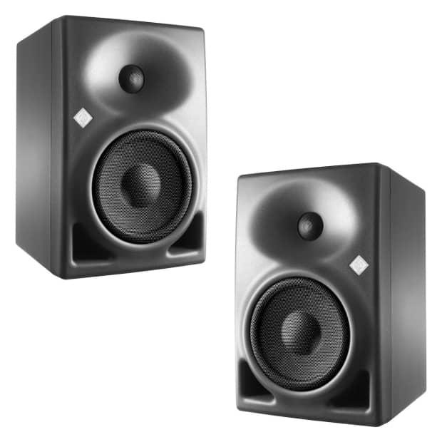 new sennheiser neumann kh 120 kh120 pair speaker studio reverb. Black Bedroom Furniture Sets. Home Design Ideas