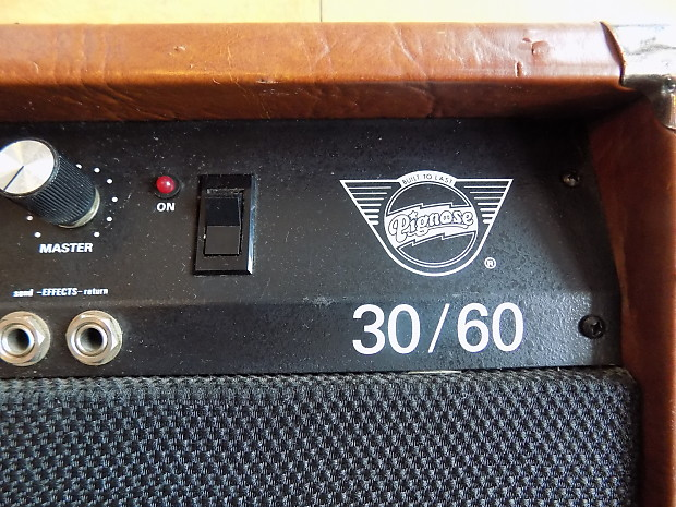 Vintage Pignose 30 60 Guitar Combo Amp Reverb