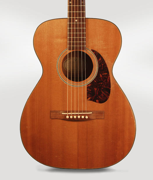 guild f 20nt flat top acoustic guitar 1962 ser 21054. Black Bedroom Furniture Sets. Home Design Ideas