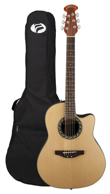 applause ab24 4 previously ae 28 4 natural balladeer acoustic electric guitar reverb. Black Bedroom Furniture Sets. Home Design Ideas