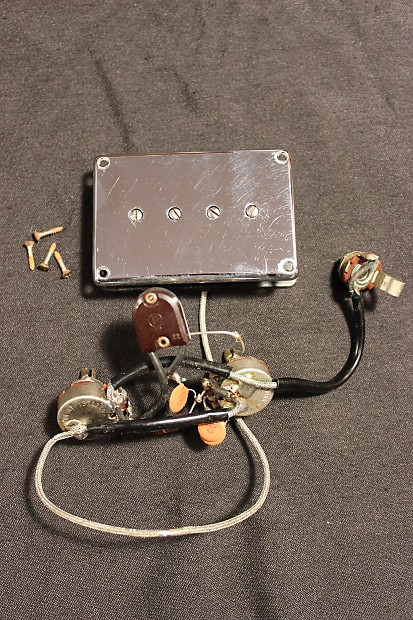 Gibson Epiphone Mudbucker Pickup And Wiring Harness 1967