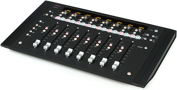 avid artist mix eucon 8 fader control surface open box reverb. Black Bedroom Furniture Sets. Home Design Ideas