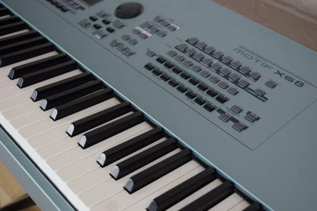Yamaha motif xs8 88 key keyboard synth weighted keys near for Yamaha keyboard 88 keys weighted