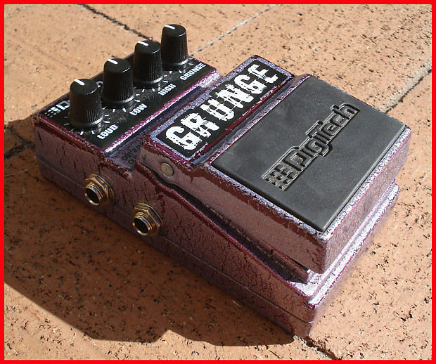 digitech grunge distortion pedal reverb. Black Bedroom Furniture Sets. Home Design Ideas
