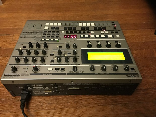 yamaha rs7000 sequencer sampler drum machine synthesizer reverb. Black Bedroom Furniture Sets. Home Design Ideas