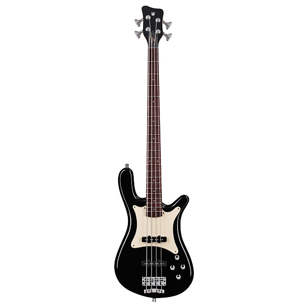 warwick wgps streamer cv 4 black pas  pas ash fretted w   bag