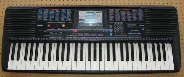yamaha psr 75 keyboard manual