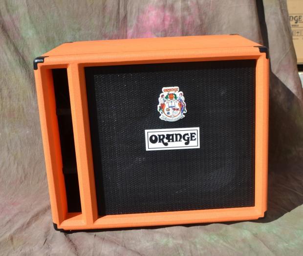 orange obc210 bass guitar speaker cabinet 2x10 namm demo 7 reverb. Black Bedroom Furniture Sets. Home Design Ideas