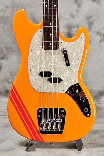fender japan mustang bass mb98 sd co capri orange reverb. Black Bedroom Furniture Sets. Home Design Ideas