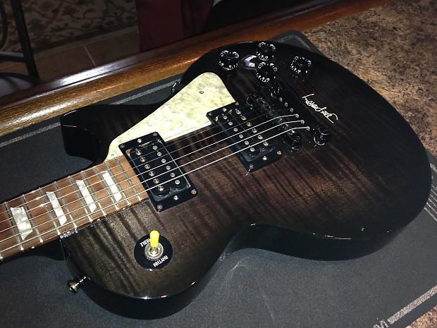 Gibson Joe Perry Signature Les Paul 1997 Black Marble Reverb