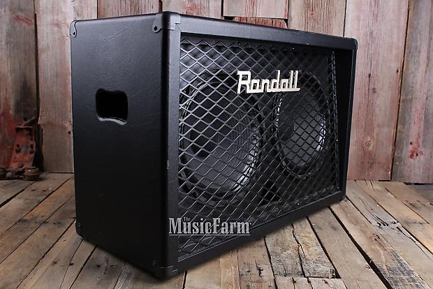 randall rd212d electric guitar amplifier speaker cabinet 160 reverb. Black Bedroom Furniture Sets. Home Design Ideas